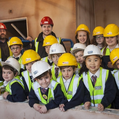 Eco-Committee Gets a Glimpse of New School Development