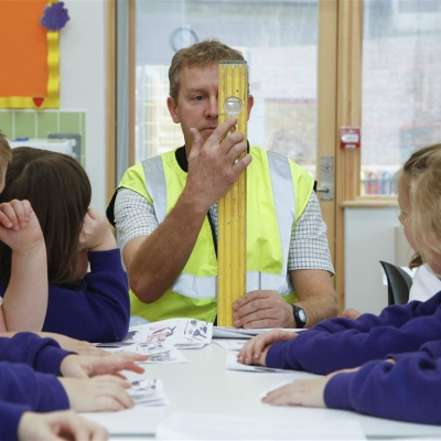 Construction Education Workshop at Brookfield Primary School