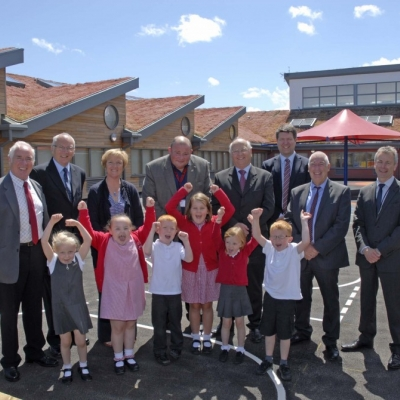 Connah's Quay's New School Opens