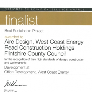 LABC National Building Award Finalist