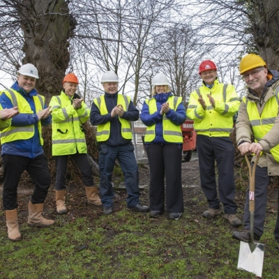 Turf Cutting Ceremony at Alsager High School