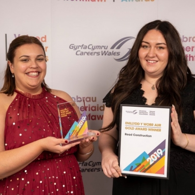 Read wins Careers Wales Valued Partner Award