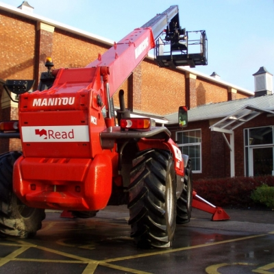 Read's long term relationship with Manitou continues