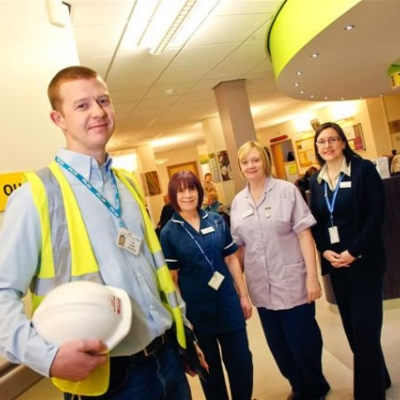 Built In Quality Award For Hospital Contractor